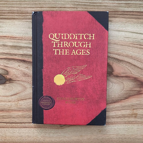 Quidditch through the Ages by J.K.Rowling - Folding Book Lamp