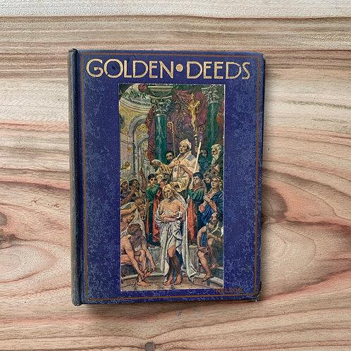 Golden Deeds - Folding Book Lamp