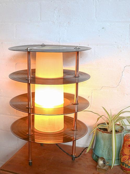 Retro Records Table Lamp