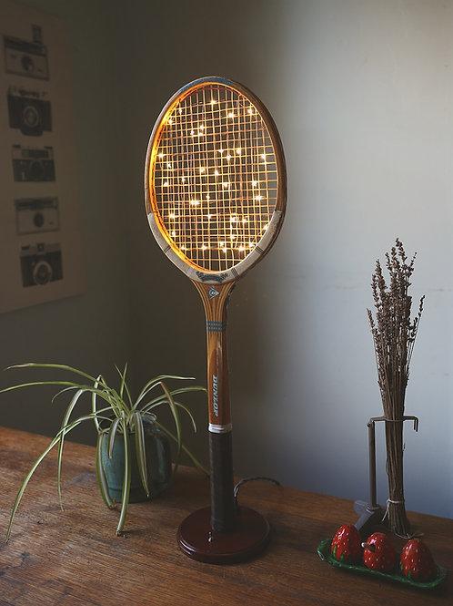 Vintage Tennis Racquet Lamp🎾