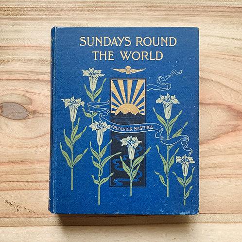 Sundays Round The World - Folding Book Lamp