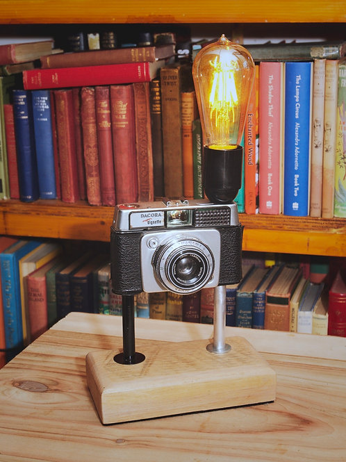 Vintage 35mm Camera Lamp