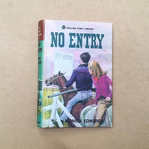 Folding Book Lamp - No Entry