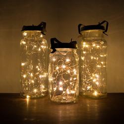 Vintage Preserving Jar Lanterns
