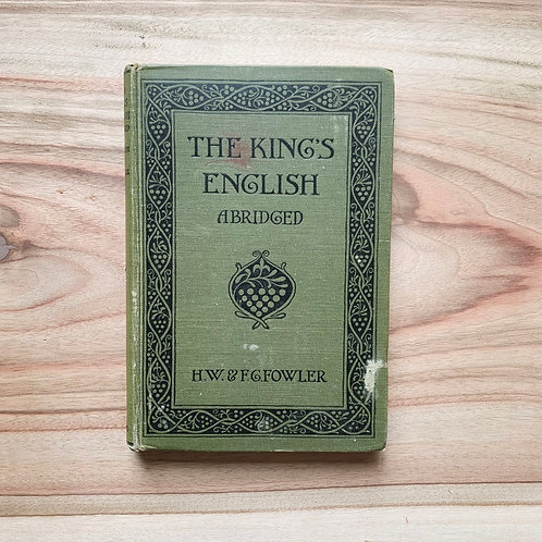 The Kings English - Folding Book Lamp