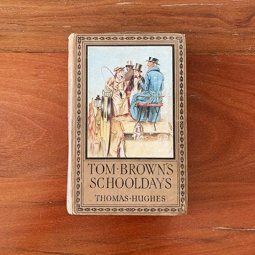 Folding Book Lamp - Tom Brown's Schooldays