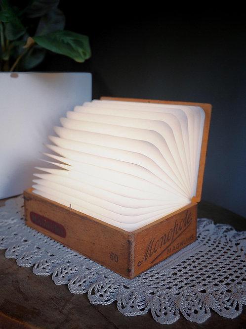 Portable Cigar Box Lamp