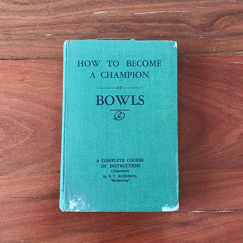 Folding Book Lamp How to Become a Champion at Bowls
