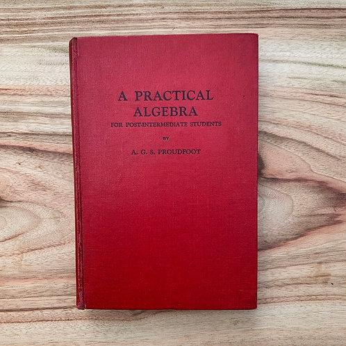 A Practical Algebra - Folding Book Lamp
