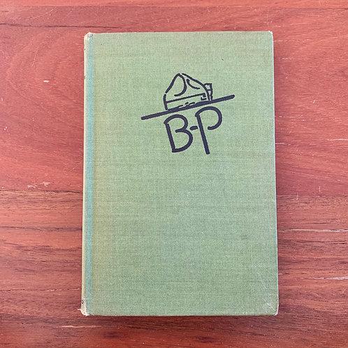 B.P (Scouts  Book) - Folding Book Lamp