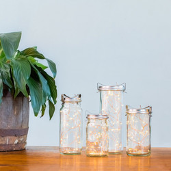 Vintage Preserving Jar Lantern