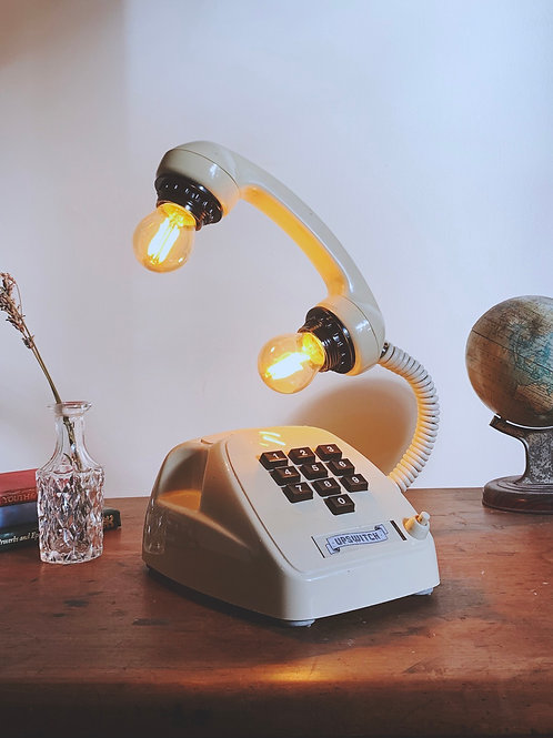 Retro Telephone Lamp