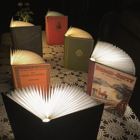 Portable Book Lamps
