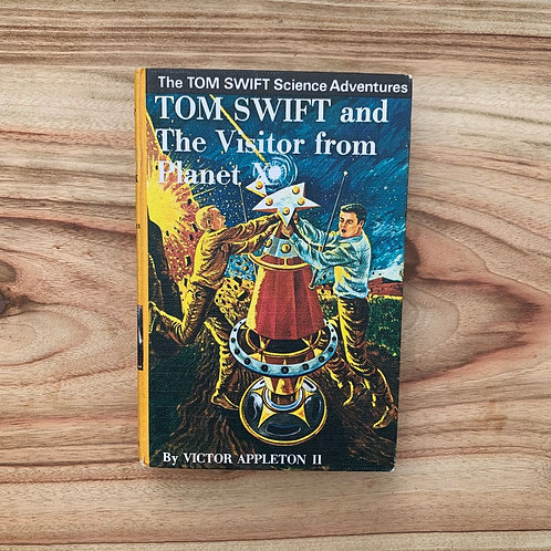 Tom Swift and the Visitor From Planet X - Folding Book Lamp