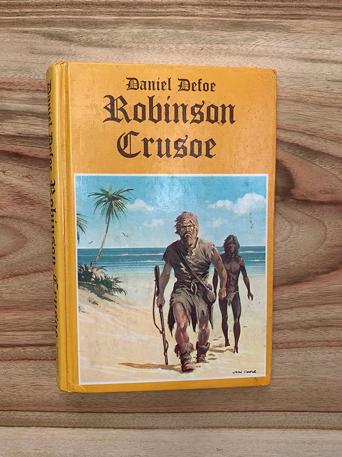 Robinson Crusoe - Folding Book Lamp