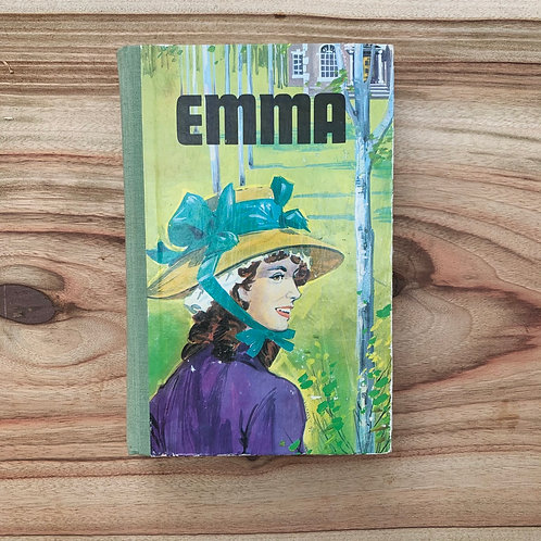 Emma by Jane Austen - Folding Book Lamp