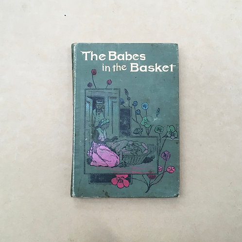 Folding Book Lamp - The Babes In The Basket