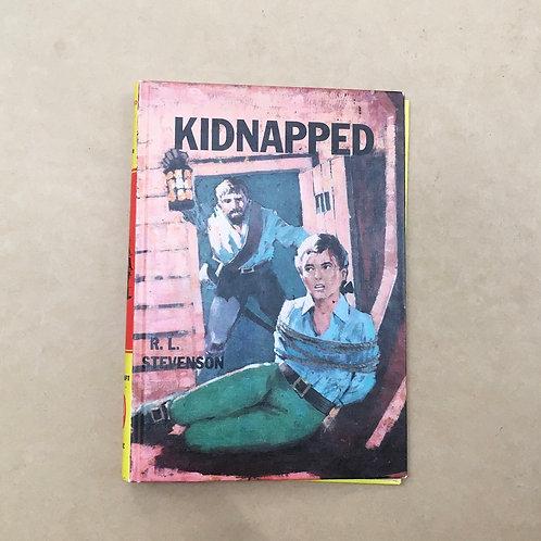 Folding Book Lamp - Kidnapped - R.L.Stevenson
