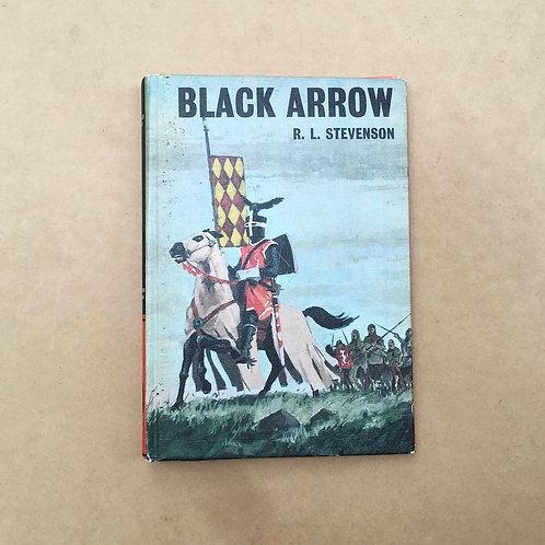 Folding Book Lamp - Black Arrow - R.L.Stevenson