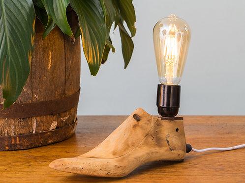 Industrial Shoe Last Lamp