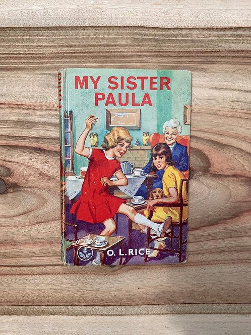 My Sister Paula - Folding Book Lamp