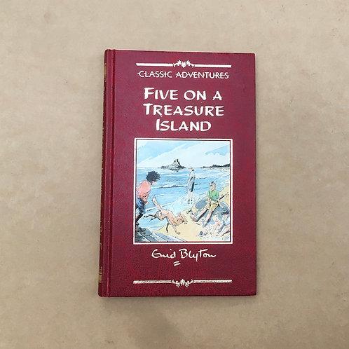 Five On Treasure Island - Enid Blyton