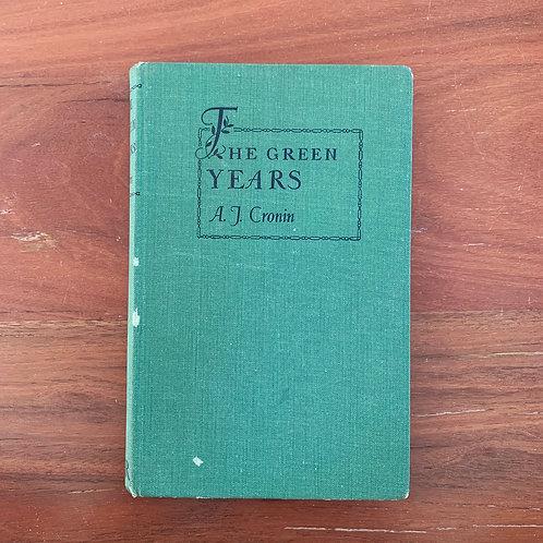 The Green Years - Folding Book Lamp
