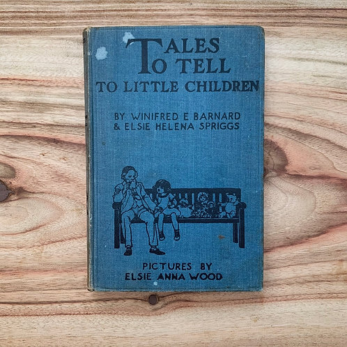 Tales To Tell To Little Children - Folding Book Lamp