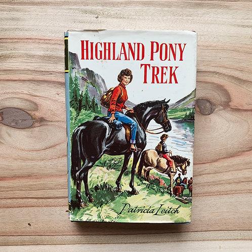 Highland Pony Trek - Folding Book Lamp