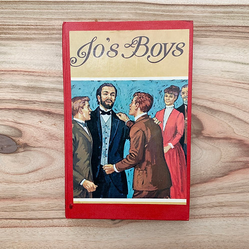Jo's Boys - Folding Book Lamp