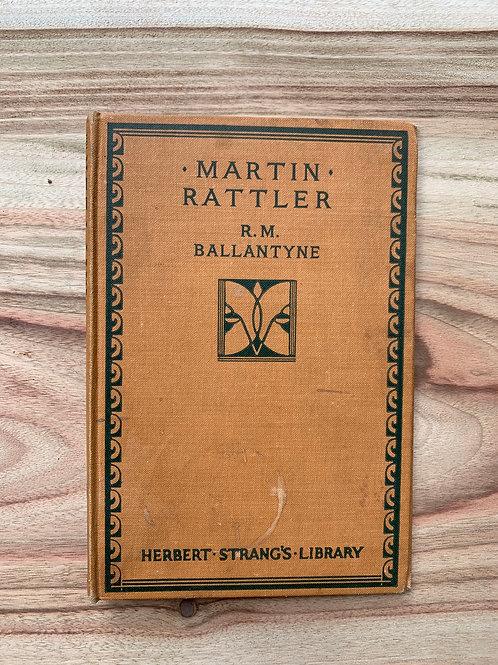 Martin Rattler - Folding Book Lamp