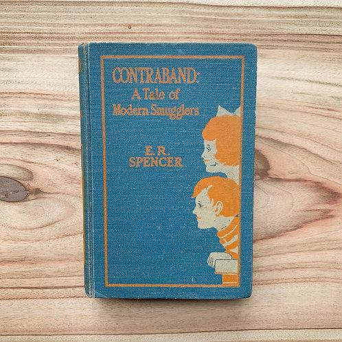 Contraband - Folding Book Lamp
