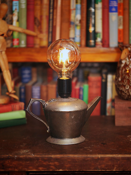 Antique Teapot Lamp