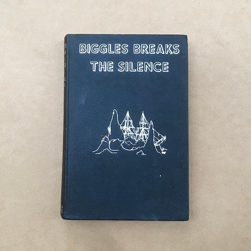 Folding Book Lamp - Biggles Breaks The Silence