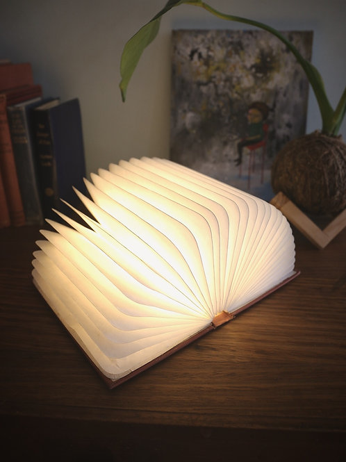 Pick Your Own Book Cover - Folding Book Lamp