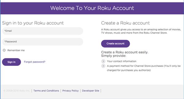 Login Problem in Roku Account