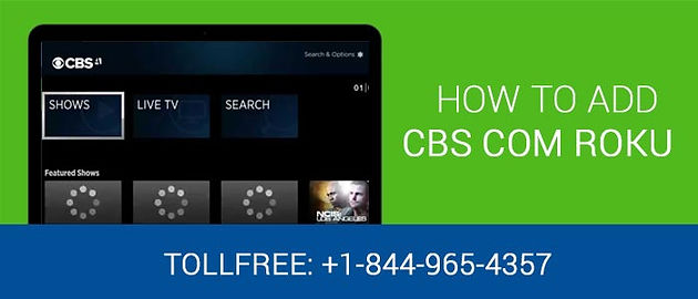 How To Activate CBS on Roku