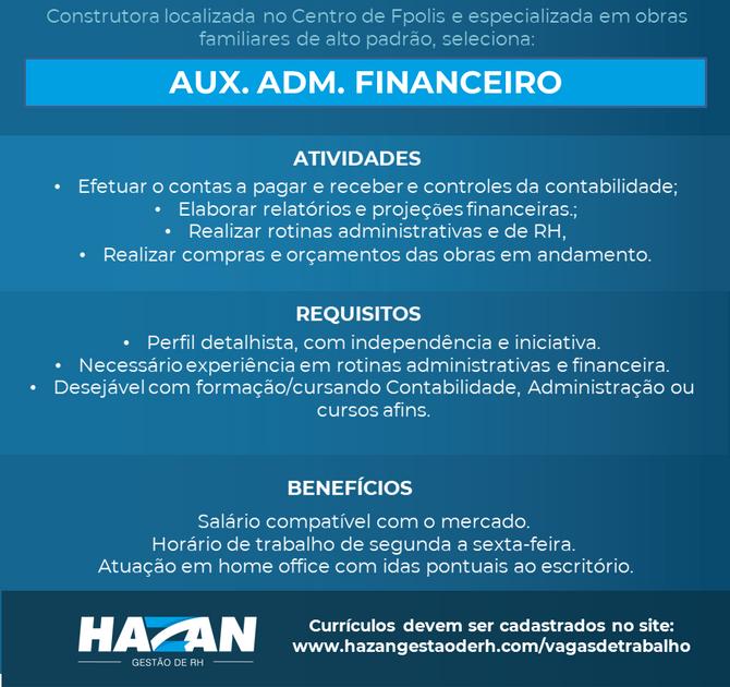 Auxiliar Adm. Financeiro
