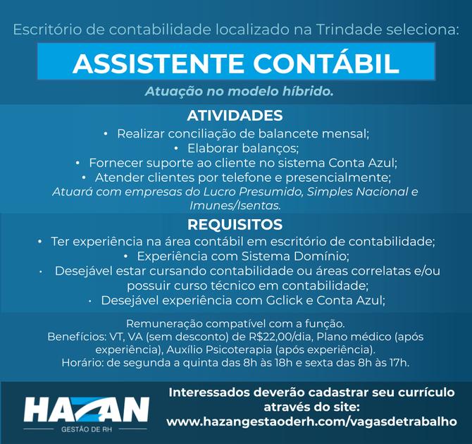 Assistente Contábil