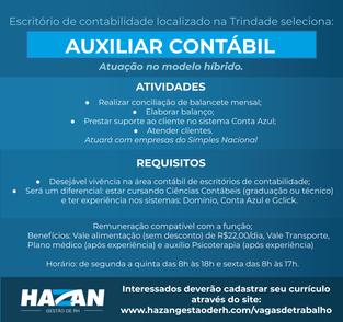 Auxiliar Contábil