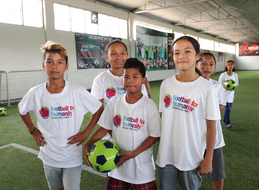 MARAWI KIDS DISCOVER FOOTBALL