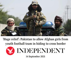 'Huge relief' Pakistan to allow Afghan girls from youth football team in hiding to cross b