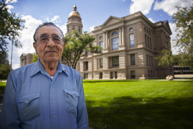Wyoming State Senator Floyd Esquibel, Cheyenne.
