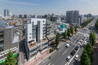 新中野の集合住宅+オフィス+店舗