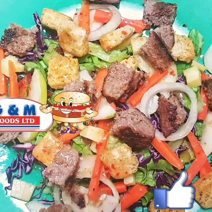 HOW ABOUT A BURGER SALAD?