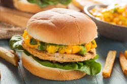 4 ounce Fish Burger Patties