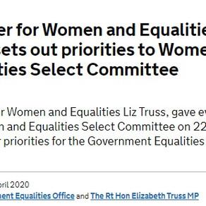 Charity Statement: Liz Truss
