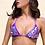 Thumbnail: Bikini Triangolo Paillettes Viola Praga