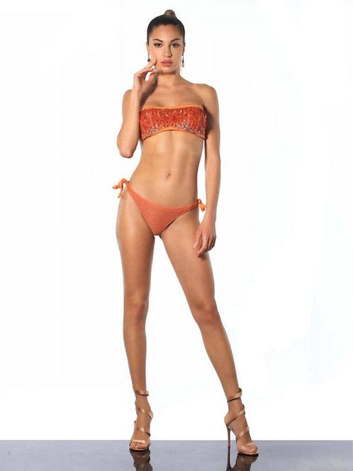 Bikini Fascia Paillettes Fiammate