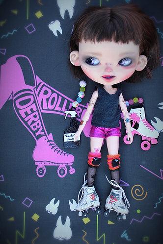 Christie, a custom Neo Blythe doll